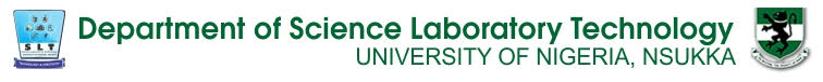 Department of Science Laboratory Technology